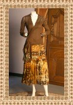 Gaultier Skirt and Tahari Cardi