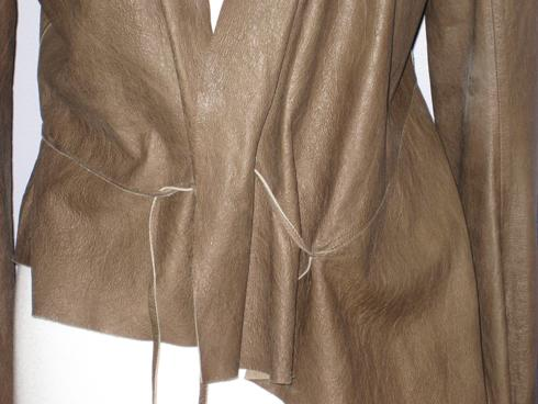 Rick Owens Leather Jacket