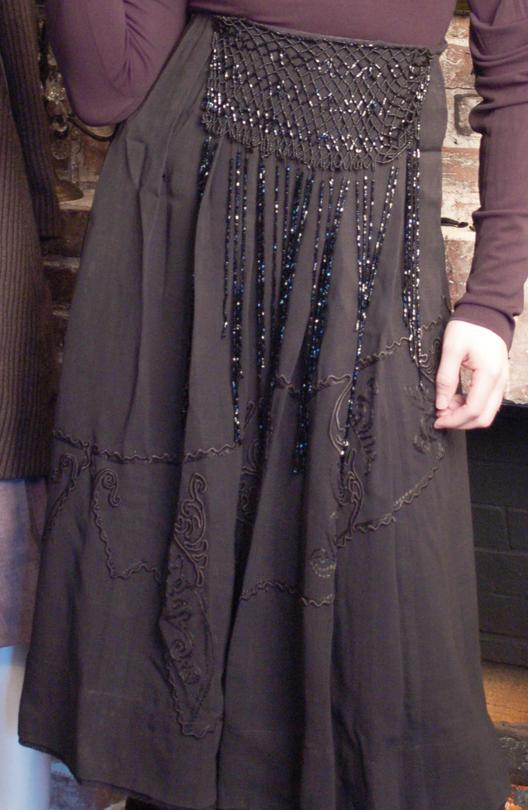 Late Edwardian Beaded Skirt