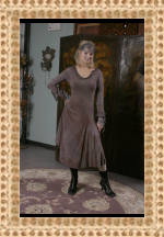 Robin Kaplan French Silk Modal Dress