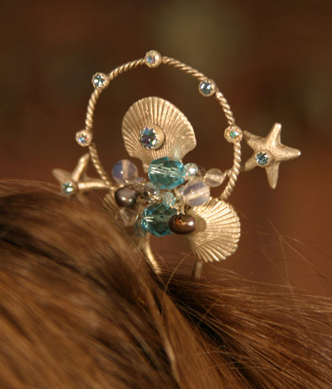 Mermaid and Faery Hair Pins